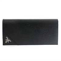 (プラダ) PRADA 長財布 2MV836 SAFFIANO METAL NERO [並行輸入品]