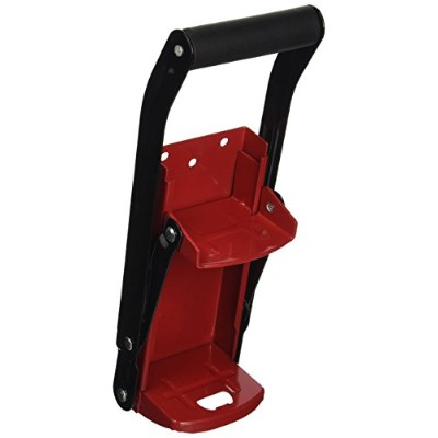 Grip Can Crusher - All-Steel, Model# 55200 (red) by Grip