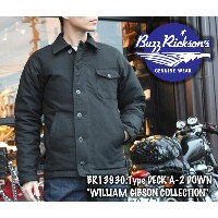 """【BUZZ RICKSON'S/バズリクソンズ】ジャケット/BR13930:Type DECK A-2 DOWN """"WILLIAM GIBSON COLLECTION""""★REAL DEAL"""