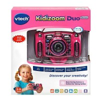 VTech Kidizoom Camera DUO 5.0 Deluxe ピンクDigital Selfie Camera with MP3 Player and Headphones Pink...