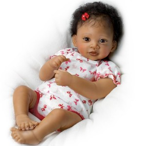 Ashton-Drake Interactive Baby Doll By Waltraud Hanl: Sweet Butterfly Kisses - 19 By The Ashton...