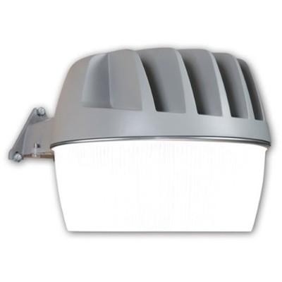 All-Pro LED Area Light, 200-watt Equivalent, 3100 Lumens, Integrated Photo Cell, Gray by All Pro