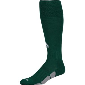 アディダス ユニセックス 野球【Team Utility OTC Socks】Dark Green/White/Light Onix