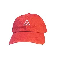 (HUFハフ)STONE WASH TRIPLE TRIANGLE CURVE VISOR 6PNL ROSE HT00156 [並行輸入品]