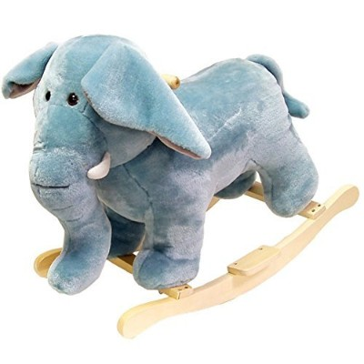 Plush Elephant Rocking Animal、ソフトand Plush