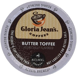 Gloria Jeans Coffee Butter Toffee 24 K-cups by Gloria Jean's