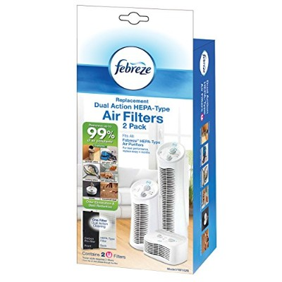 Febreze FRF102B Replacement Dual Action Filter, 2-Pack by Kaz