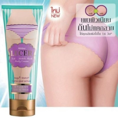 Mistine Lecer Cream Bikini Armpit Elbow Anti Stretch Mark Body Active Whitening 100 G