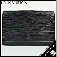 【LOUIS VUITTON/ルイ・ヴィトン】エピ ポシェット・サンチュール ノワール M52592 【中古】≪送料無料≫