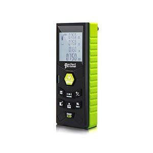 Perfect-Prime RF0350, Laser Distance Digital Range Finder Meter Diastimeter Measuring Device with...