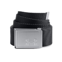 UNDER ARMOUR (アンダーアーマー) 2018 UA Webbing Belt 2.0 1305487 Black (001) / Rhino Gray [並行輸入品]