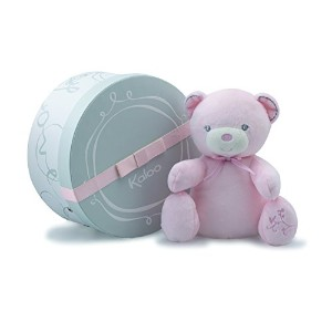 Kaloo - Peluche Musicale Ours Rose Perle