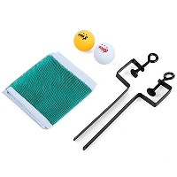 Ping Pong Retractable Ball Net Fix機器実用的トレーニングCompetitionテーブルテニスセット