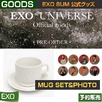 MUG SET + CIRCLE PHOTO / EXO [UNIVERSE] GOODS / SM SUM ARTIUM 即日発送