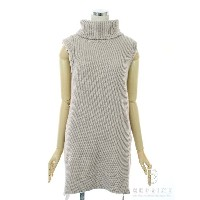 DAISY LIN for FOXEY フォクシー トップス Sleeveless Turtleneck Sweater【38】【Aランク】【中古】gz300211t