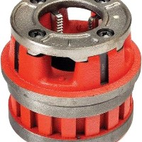 【Ridgid 37540 Manual Threading/Pipe and Bolt Die Heads Complete W/Dies - 12R 1 1/4 HS NPT DHC F/S...