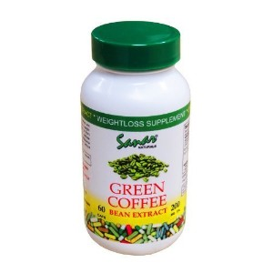 Green Coffee Bean Extract 60 Caps by Sanar Naturals - Diet - Weight Loss Supp... by Sanar Naturals
