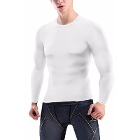 Cfr Sport Base Layer Long Sleeves圧縮タイツシャツメンズアクティブウェアMuscle Tank for Fitness Workout Runningラッシュガード...
