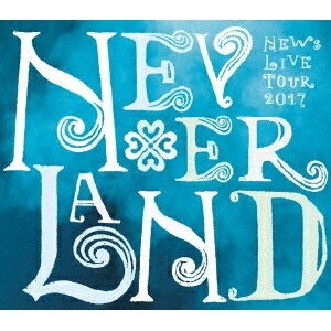 ●NEWS/NEWS LIVE TOUR 2017 NEVERLAND DVD (初回盤)20180124