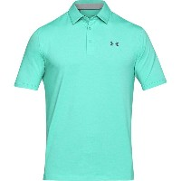 アンダーアーマー メンズ トップス ポロシャツ【Charged Cotton Scramble Polo Shirts】Teal Punch/Rhino Gray