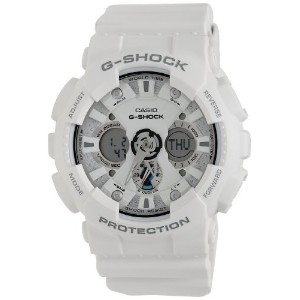 CASIO(カシオ) 腕時計 並行輸入品 G-Shock Ana-Digi World Time White Dial Men's watch #GA120A-7A GA-120A-7ADR ...