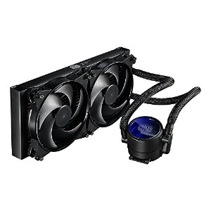 Cooler Master masterliquid Lite 120All - in - One CPU液体Cooler with Dual Chamberポンプ( mlw-d12m...
