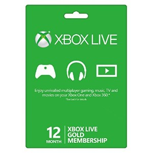 McBoson? Microsoft Xbox LIVE 12 Month Gold Membership (Physical Card) by MCBoson? [並行輸入品]