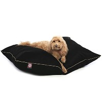 28x35 Black Super Value Pet Dog Bed By Majestic Pet Products Medium by Majestic Pet