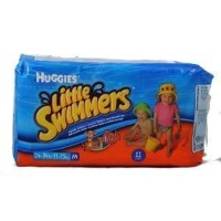 Huggies Little Swimmers Disposable Swim Diapers Medium Pk of 11 diapers (Characters may very) by...