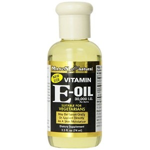 Mason Vitamins Vitamin E-Oil 30,000 I.U., Suitable For Vegetarians, 2.5-Ounce by Mason Vitamins ...
