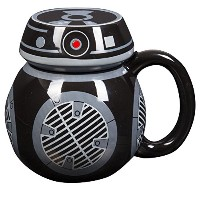 STAR WARS : THE LAST JEDI bb-9eコーヒーマグ – セラミックFigural Mug with Lid – 16オンス