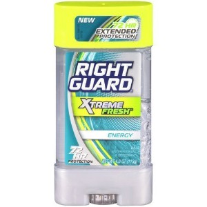 NEW Right Guard Xtreme Fresh Energy Gel Antiperspirant and Deodorant 4oz by Rigght Guard [並行輸入品]