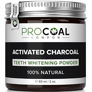 Premium Activated Charcoal Teeth Whitening Powder 60ml by PROCOAL