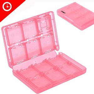 Luniquz 26 in 1 DSゲームカードゲームホルダーCarry Case for Nintendo 3ds、新しい3ds、DSI、DS、DS Lite、DSI XL