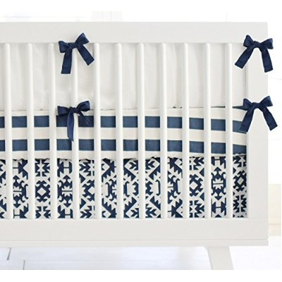 New Arrivals 3 Piece Arizona Crib Bed, Navy by New Arrivals
