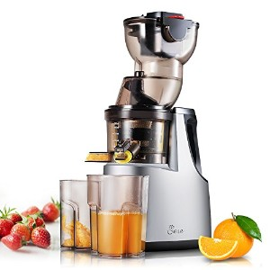 "Jese Juicers Wideシュートanti-oxidation Extra Slow hr1895 Extractor ( 250 W、37rpms、3.5 "" Big Mouth ) –..."