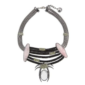 Camila Klein Millipede necklace - メタリック