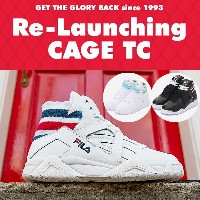 [FILA] Heritage Fila Cage TC Uniesex Sneakers Game point Premium FILA 3color