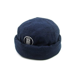 "GOHEMP(ゴーヘンプ)GOOD MORNING ROLL CAP INDIGO""麻柄""SASHIKO Color:SASHIKO Size:F"