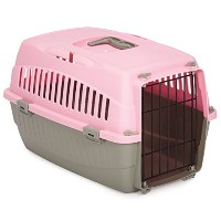 Casual Canine Carry Me Crate Small Pink by Cruising Companion