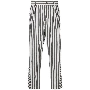 Damir Doma striped trousers - ブラック