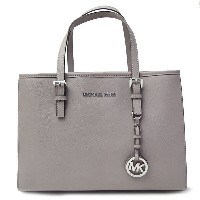 マイケルコース MICHAEL KORS トートバッグ レディース 2WAY JET SET TRAVEL EW TOTE PEARL GREY グレー 30H3STVT8L 081