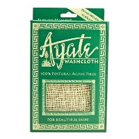 Flower Valley Ayate Washcloth, 100% Natural Agave Fiber Count by Flower Valley [並行輸入品]