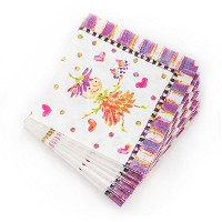mackenzie-childs Pixie Party Paper Napkins、ピンク&パープル( 40Count )