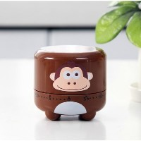 Cartoon Animal Miniキッチン調理機械タイマー55分Monkey by shopinmall-kitchenタイマー
