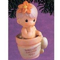 Precious Moments Baby's First Christmas Boy Ornament '97 Retired by Precious Moments [並行輸入品]