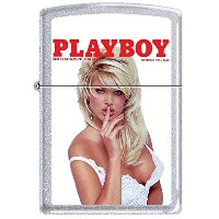 Zippo/ジッポー/オイルライター/PLAYBOY/喫煙具/ Zippo Playboy November 1994 Cover Satin Chrome Windproof Lighter...