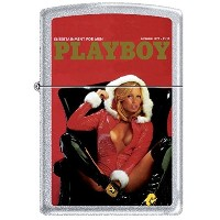Zippo/ジッポー/オイルライター/PLAYBOY/喫煙具/ Zippo Playboy December 1977 Cover Satin Chrome Windproof Lighter...