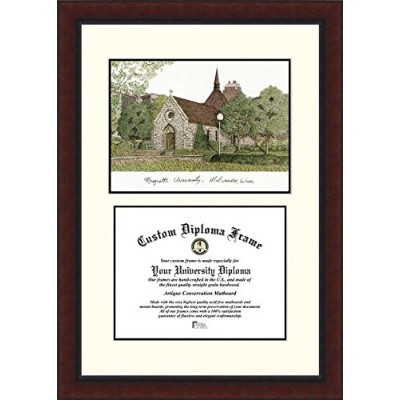 Campusimages WI999LV Marquette University Legacy Scholar Diploma Frame
