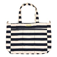 Ju-Ju-Be Legacy Nautical Collection Super Be Zippered Tote Diaper Bag   The First Mate